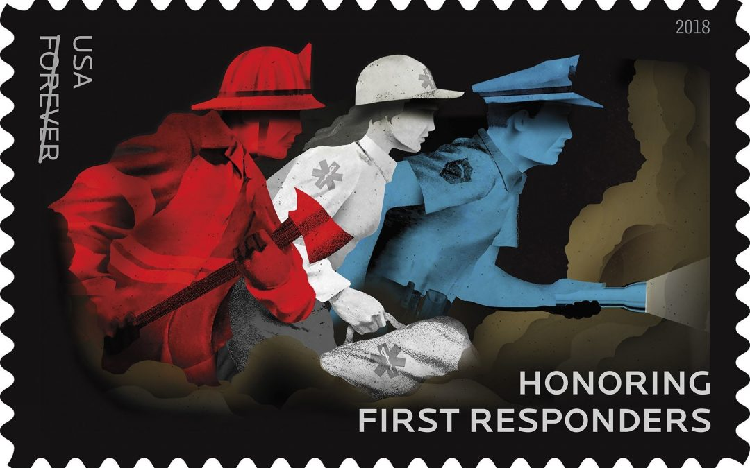 First Responders Come to the Rescue on New Forever Stamp