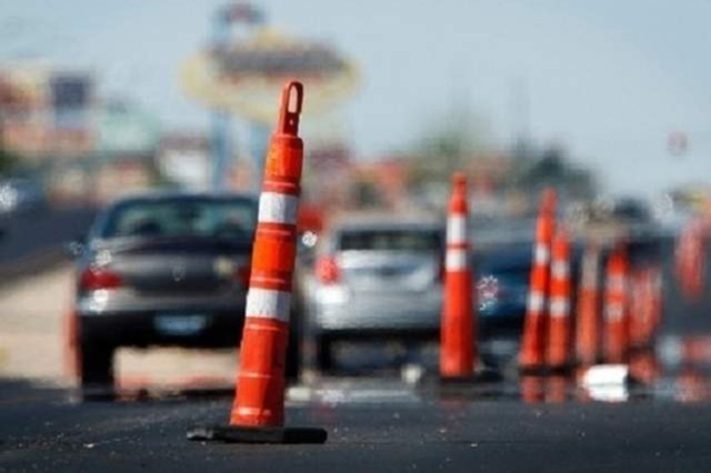Notice:  DO NOT MOVE Construction/Traffic Cones